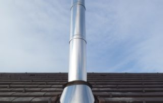 Conduit Modinox PTR Sortie de toiture Inox