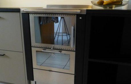 Pertinger Ökoalpin 60 BU Four en dessous Plaque de cuisson Vitrocéramique Habillage Noir