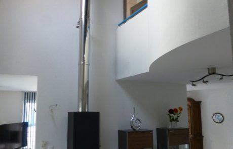 Poêle Acier Attika Art-10 Noir Blocs Accu