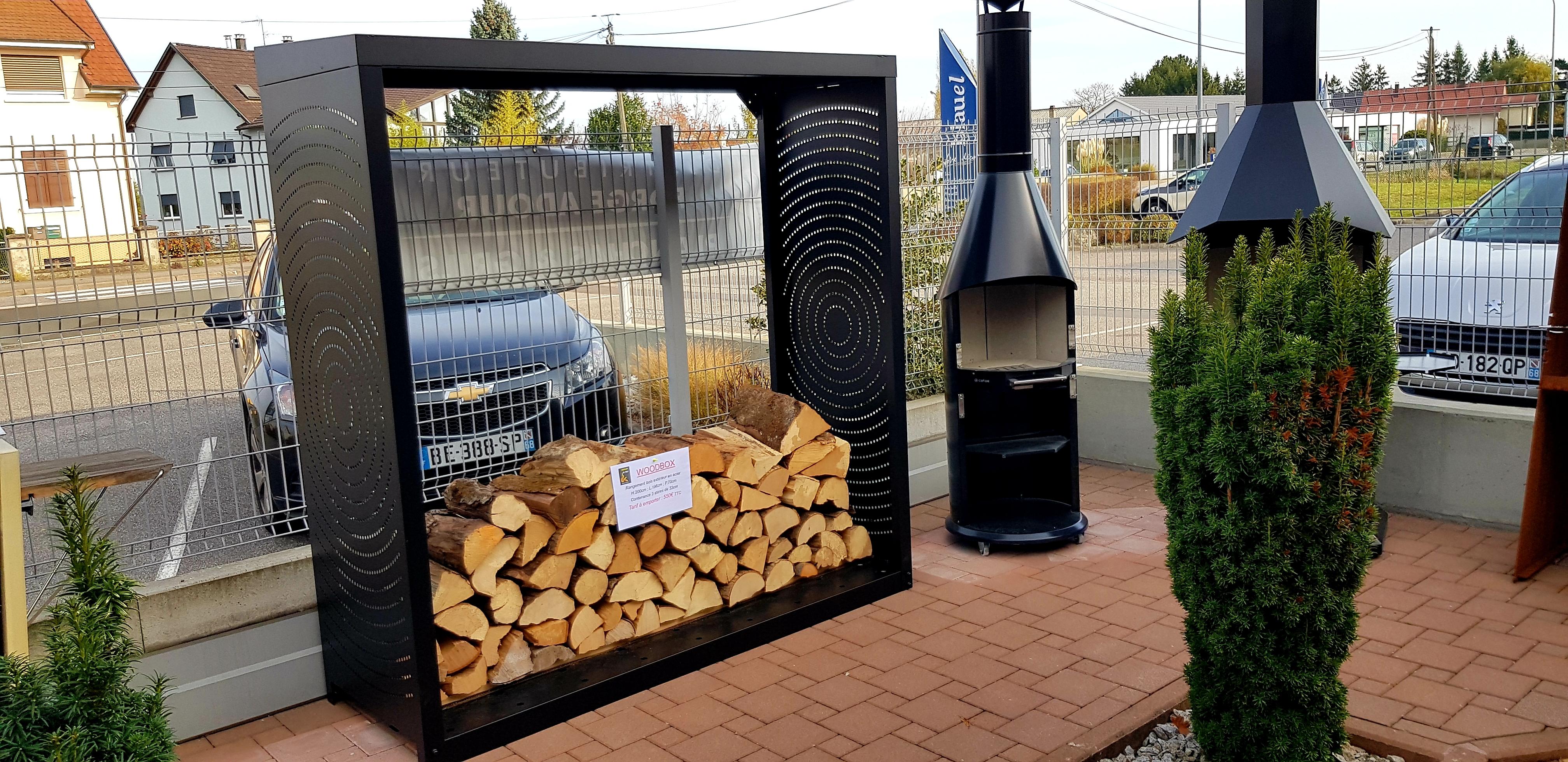 Accessoires Keiflin et Fils : Rangement bois Woodbox