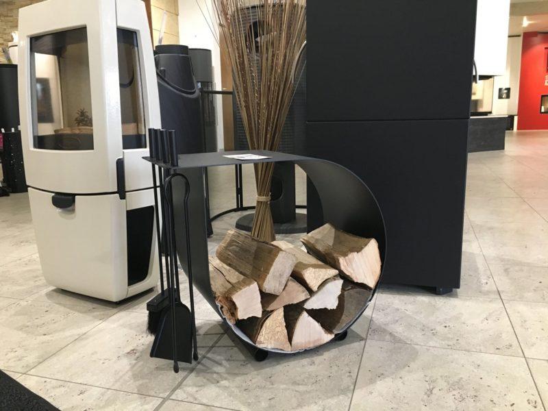 Accessoires Keiflin et Fils : Rangement bois Carracol