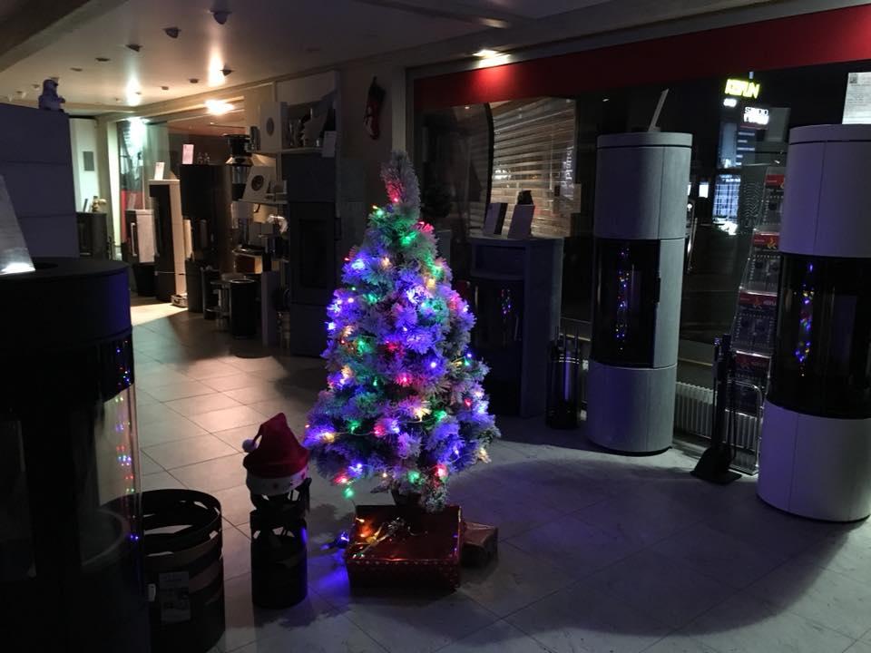Salle d'Exposition Keiflin Décoration Fin d'année Noël 2017