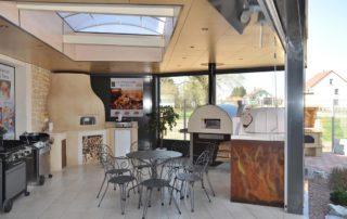 Salle d'Exposition Keiflin Espace Cuisine Extérieure
