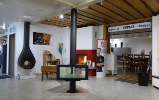 Salle d'Exposition Keiflin Espace Cheminées Métalliques