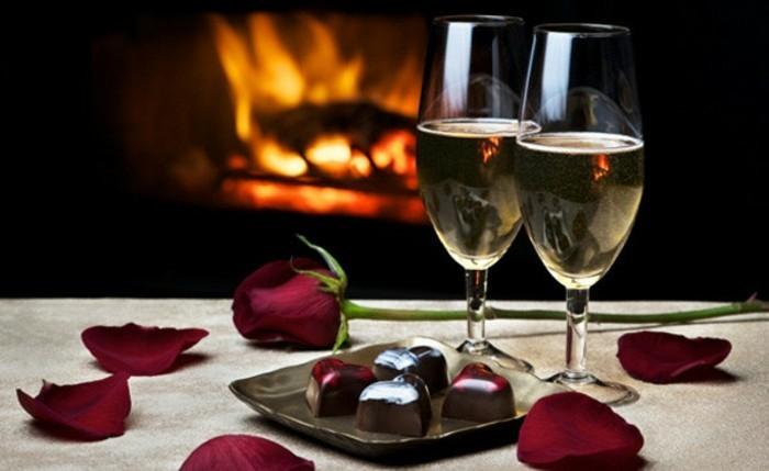 Feu et Saint-Valentin