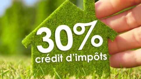 Crédit Impôts 30%