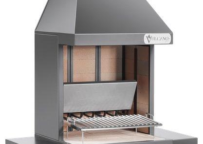Barbecue Grill Vulcano Fire Art VT540 Acier Noir