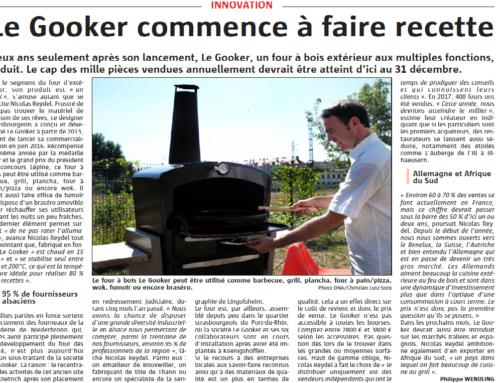 Le Gooker est en vente chez Keiflin cheminées depuis le lancement 🇫🇷️😉 (Extrait du journal d'aujourd'hui)
