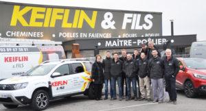 Equipe Keiflin et Fils Hésingue Cheminées Poêles Conduits et Tubages