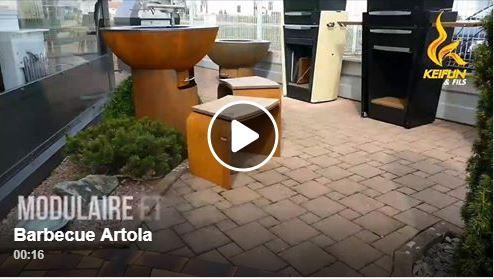 Gamme Barbecue Artola Keiflin