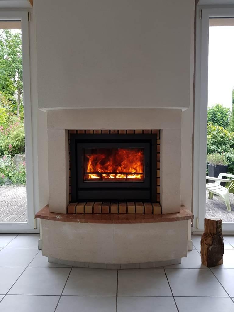 Insert de cheminée BG Fires IF 683