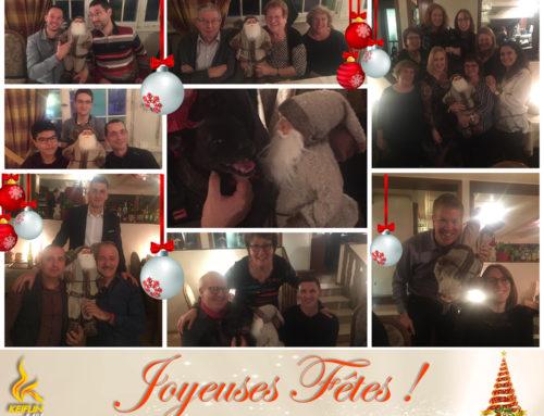 Traditionnelle, familiale, conviviale et bien entendu, chaleureuse… La fête de Noël chez Keiflin