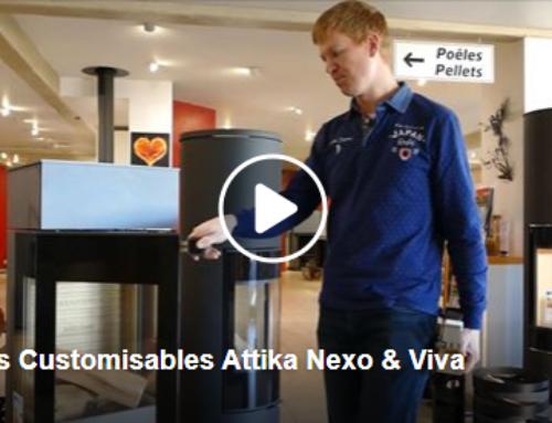 Présentation des Poêles Customisables Attika Nexo & Viva par Sébastien Keiflin 🧐🔥