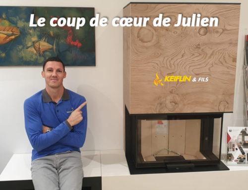 LE COUP DE COEUR DE JULIEN… Le Poêle à Bois NEOCUBE