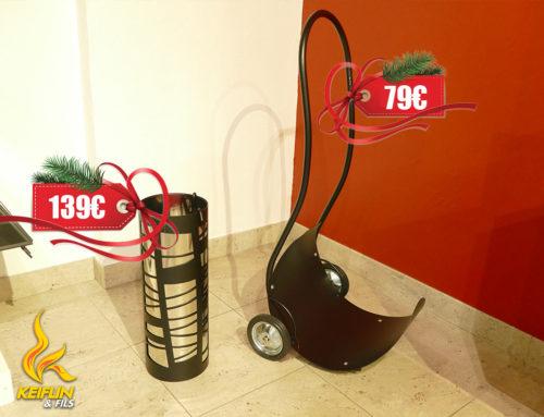 Idées cadeaux… En panne d'inspiration pour vos cadeaux de Noël ? Pensez aux accessoires de cheminées ! 🔥🎄😍