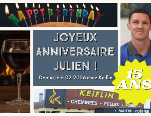 Julien Deliga 6.02.2006 – 15 ans chez Keiflin