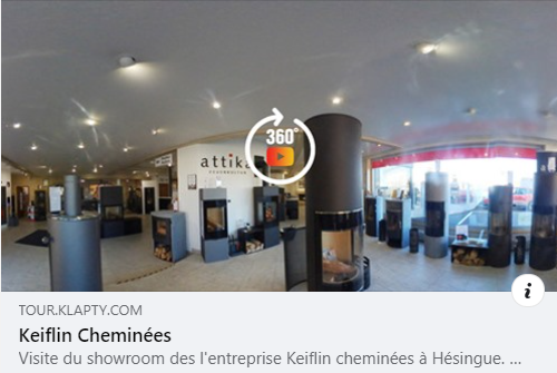 Visite Virtuelle Salle d'Exposition Keiflin