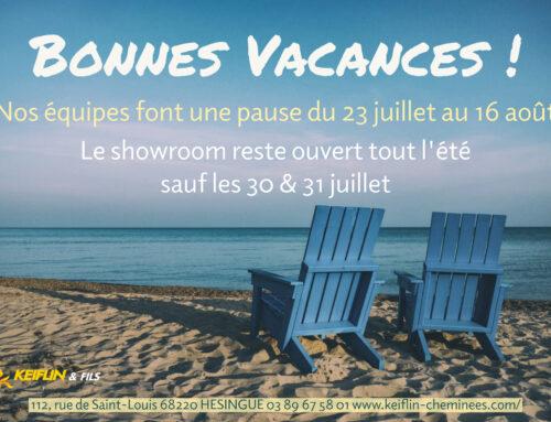 ✈️Nos équipes font une pause du 23 juillet au 16 août ☀️☀️☀️ 👉Le showroom quant à lui reste ouvert tout l été excepté les 30 et 31 juillet 2021 😀 ☀️🌴BONNES VACANCES A TOUS !!! 🥳☀️🌴