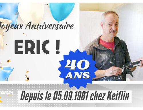 🤩 40 ans… Une longue et belle histoire autour de la passion de notre métier 🔥👨🔧 JOYEUX ANNIVERSAIRE Eric !!!